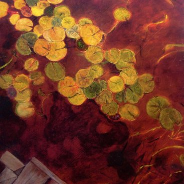 "Water lilies, 10""X8"", 2006"